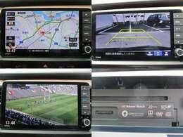 ナビゲーションはホンダGathersメモリーナビ AM FM CD DVD再生 Bluetooth MusicRack フルセグTVがご使用いただけます。 バックカメラ装備で車庫入れの時は安心です。