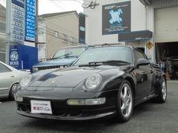 ポルシェ 911 カレラ4S 4WD ターボエンジン載替