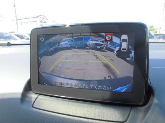 バックカメラ付きで駐車もご安心下さい。