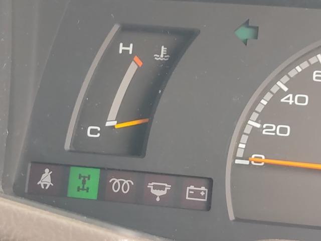 2WDから4WDへの切り替えはスムーズです。
