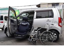 スズキ ワゴンR 昇降シート車 全自動助手席昇降シート