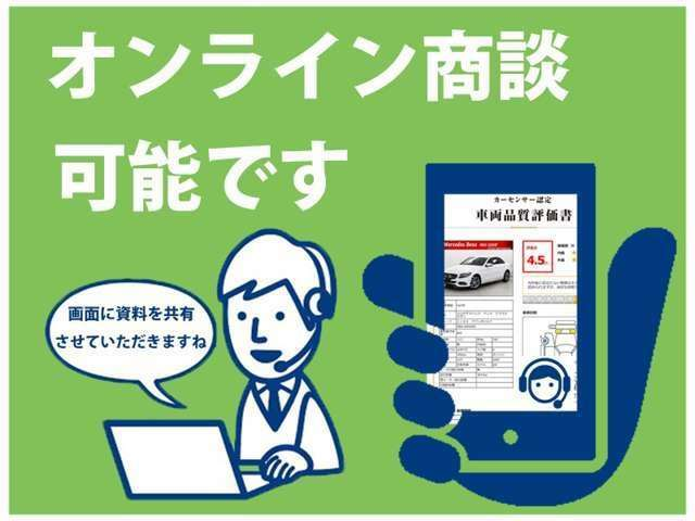 Aプラン画像:当社ではオンライン商談が可能です。登録のサポートもさせていただきますので、お気軽にご連絡お待ちしております。