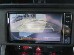 駐車が苦手な方も、そうでない方も、大変に便利なバックモニターを搭載しております!