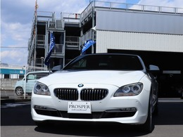 BMW 6シリーズカブリオレ 640i 右ハンドル ディーラー車