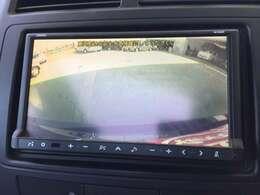 バックカメラ付で車庫入れも安心してできます♪