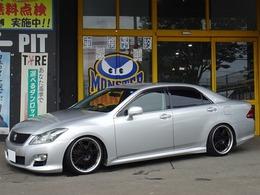 トヨタ クラウンアスリート 2.5 アニバーサリーエディション 車高調19inchプレミアムサウンドHDDマルチ