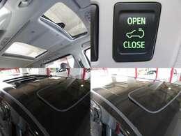希少サンルーフ付ですので、開放感ある車内を演出してくれます♪