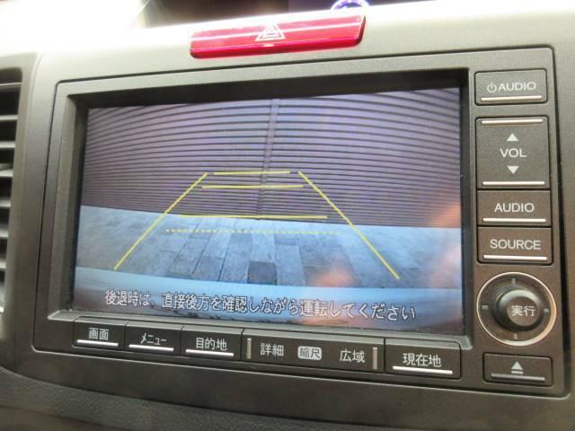 カラーバックカメラ装備で後方確認もラクラク。運転が苦手な方にも安心して乗っていただけます。