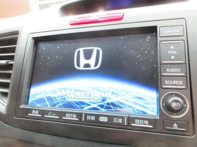 純正HDDナビ搭載。お好み音楽を曲を録音し、運転中にお楽しみいただくことが可能です。
