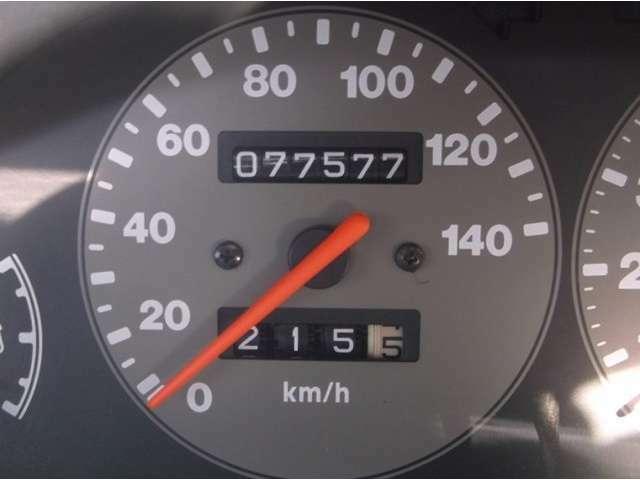 走行距離は    77574 Km