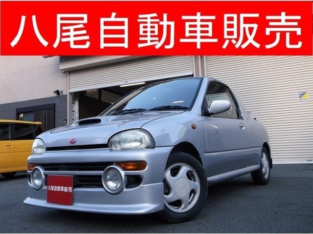 平成6年式ヴィヴィオT-TOP入庫しました♪スバル唯一の軽オープンカー☆是非試乗しに来てください♪
