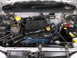 SOHCメカニカルスーパーチャージャー(MSC)エンジンを搭載