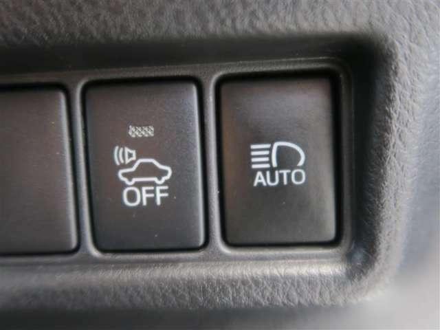 先進安全機能で毎日の安全をサポートする自動ハイビームシステムスイッチのNO/OFFが可能。