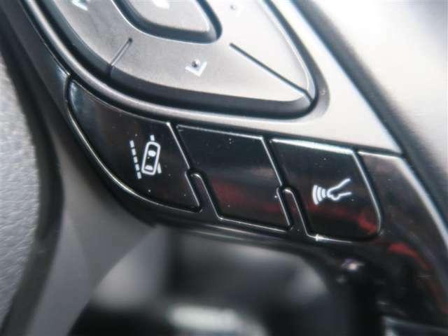先進安全機能で毎日の安全をサポートする車線はみだしアラート・のNO/OFFが可能。