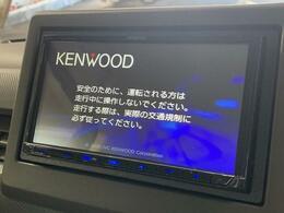 KENWOODナビ付き!地デジTV、Bluetooth機能も有り。