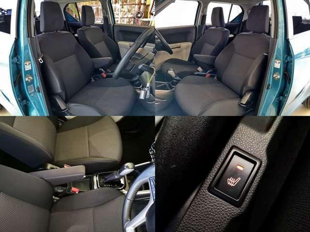 車小さいですが 大きなシートで室内高も有るので 身長高い方でも余裕ですよ シートヒータもうれしい装備ですね