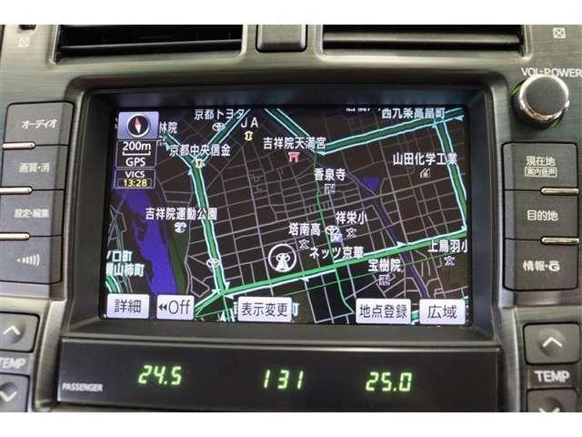 メーカーHDDナビ。CD・DVD・フルセグTV対応です。走行中のテレビ視聴は危険ですので、車両停車時にお楽しみくださいね。