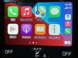 大人気【アップルカープレイ】使用できます!