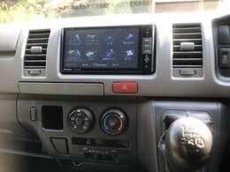 PanasonicのCN-AS300WDフルセグTVナビBluetoothもついております。快適なドライブができますね♪