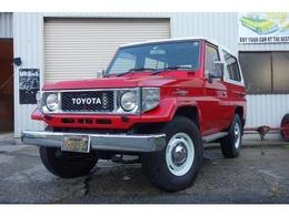 トヨタ ランドクルーザー70 ZX FRPトップ 全塗装/MT乗セ換済/FRPトップ