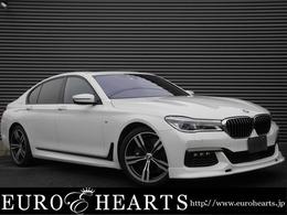 BMW 7シリーズ 750i Mスポーツ 黒革サンル-フ左Hオプション20AW地デジTV