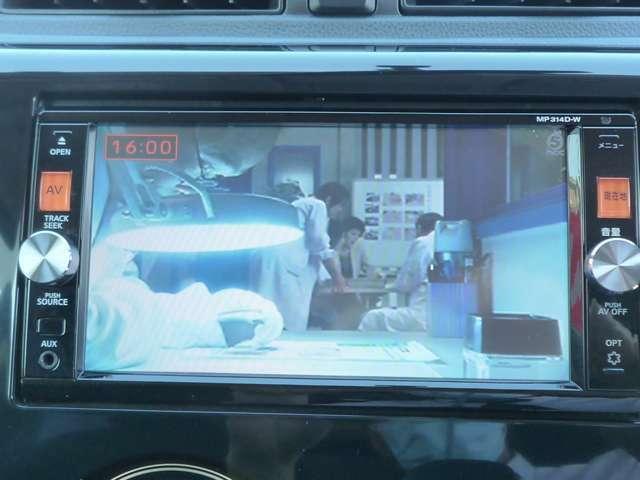 フルセグの地デジTVです。綺麗な画像をお楽しみください