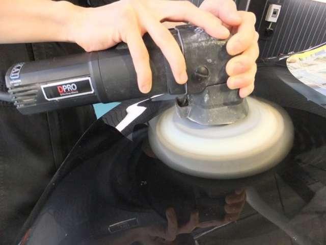 Bプラン画像:コーティング施工後は水洗い洗車のみでOK☆水弾き・ツヤもアップし、鏡面ボディに仕上がります☆