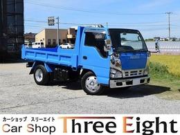 いすゞ エルフ 2tダンプ メッキパーツ トクS 2ペダル ETC