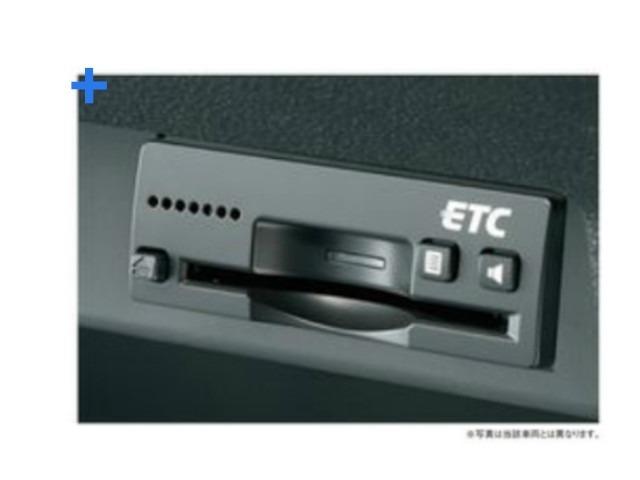 ★オプション★ETC車載器(ビルトインタイプ)&ETC/ナビ接続ケーブルをとりつけると【ETC連動ナビ】になるタイプです。取り付けについてくわしくはスタッフにお問い合わせください。