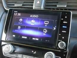 ナビゲーションはギャザズメモリーナビ(VXU-197SGi)を装着しております。AM、FM、CD、DVD再生、Bluetooth、音楽録音再生、フルセグTVがご使用いただけます。初めて訪れた場所でも道に迷わず安心ですね!