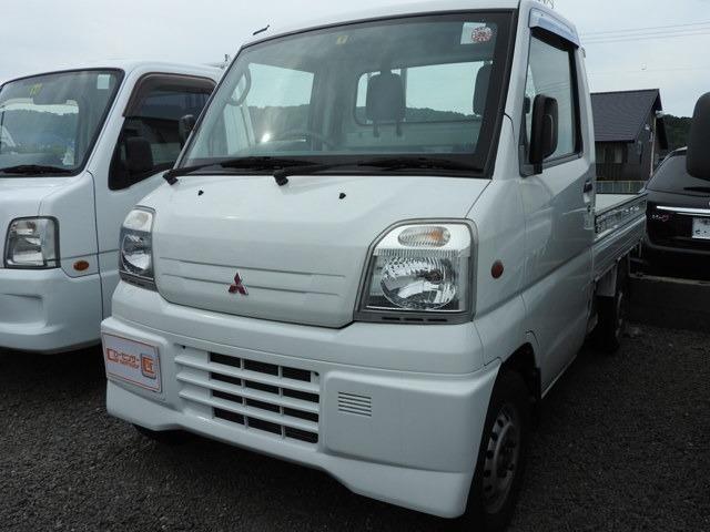エアコン・パワステ付きのミニキャブトラック4WD☆