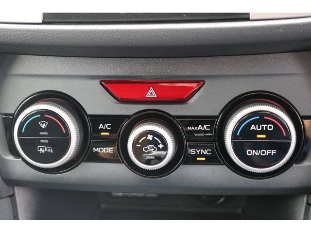 【左右独立エアコン】☆運転席と助手席で違う温度設定が可能。寒がりと暑がりが同時に乗っても快適に設定できます。