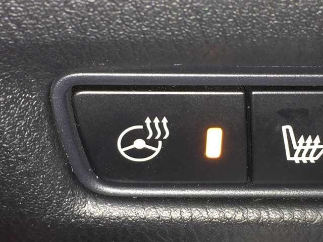 【ステアリングヒーター】寒い時期でもハンドルがポカポカと手を温めてくれます♪
