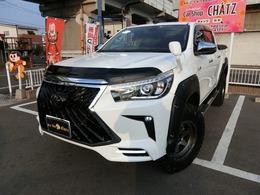 トヨタ ハイラックス 2.4 Z ディーゼルターボ 4WD バグガード 2リフトUP