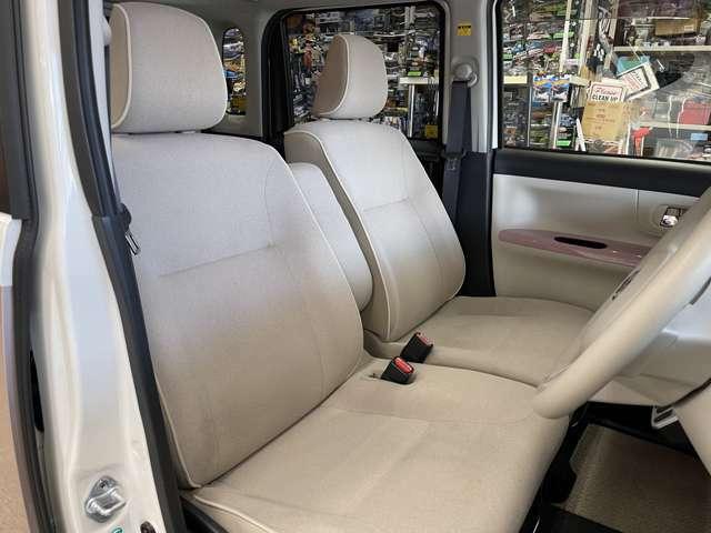 フロントシートかなり綺麗です!