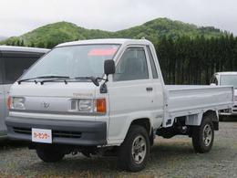 トヨタ タウンエーストラック 2.0 DX シングルジャストロー ロングスチールデッキ 三方開 ディーゼル 4WD スタッドレス装着