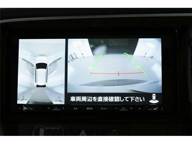 全周囲の映像がナビから確認できます!初めてのお車でも頼れる装備ですよね♪