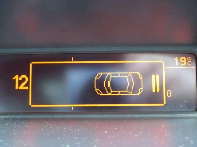 駐車時も安心☆リアソナー!