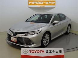トヨタ カムリ 2.5 G レザーパッケージ 寒冷地仕様 軽減ブレーキ ワンオーナー