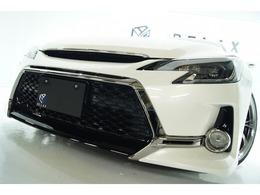 トヨタ マークX 2.5 250G リラックスセレクション 新品Gs仕様新品ライト新品アルミ新品車高調
