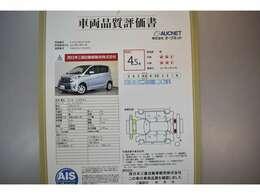 AIS社の車両検査済み!総合評価4点(評価点はAISによるS~Rの評価で令和3年3月現在のものです)☆お問合せ番号は41020456です♪