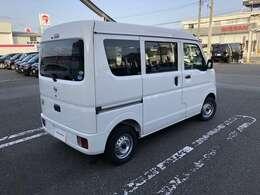 R3年式 NV100クリッパー660DX ハイルーフ 4WD ホワイトが入荷しました☆