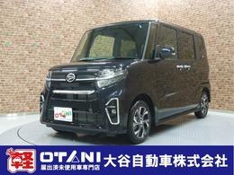 ダイハツ タント 660 カスタム X 軽自動車 新品ナビ スマートアシスト付