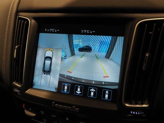 バックカメラだけでなくサラウンドビューモニター装備なので真上から見る映像で駐車時も不安がより軽減されます。