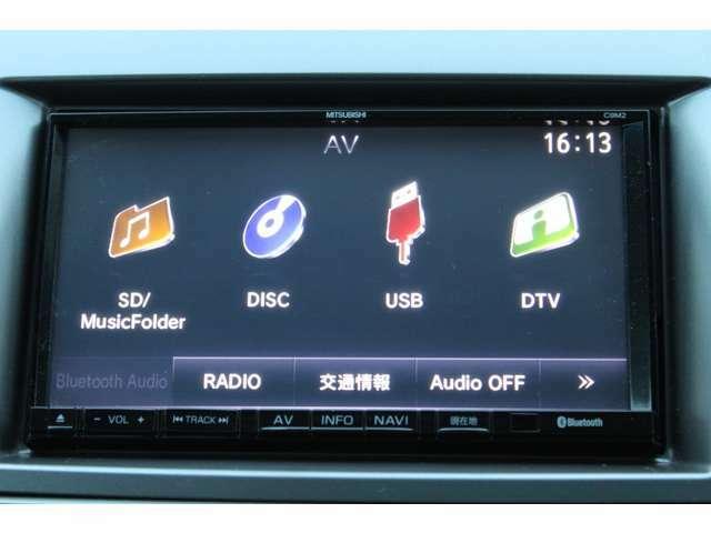 ナビ/フルセグTV/Bluetoothオーディオ対応/DVDも再生出来ます!