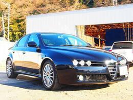 アルファ ロメオ アルファ159 2.2 JTS セレスピード プログレッション トゥーリズモII ディラ車1オナ4点物本革ナビHID