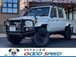 トヨタ ランドクルーザー70ピックアップ 4.0 4WD ルーフラック リフトアップ デフロック