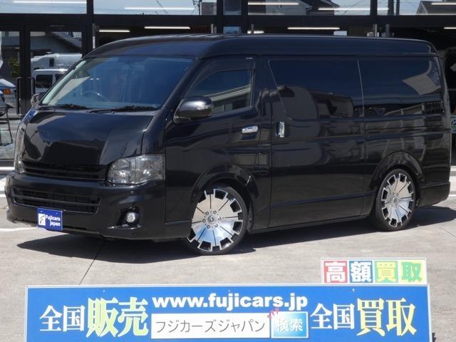 カスタム車両☆ハイエースバン☆クラフトプラス製ベッドキット☆