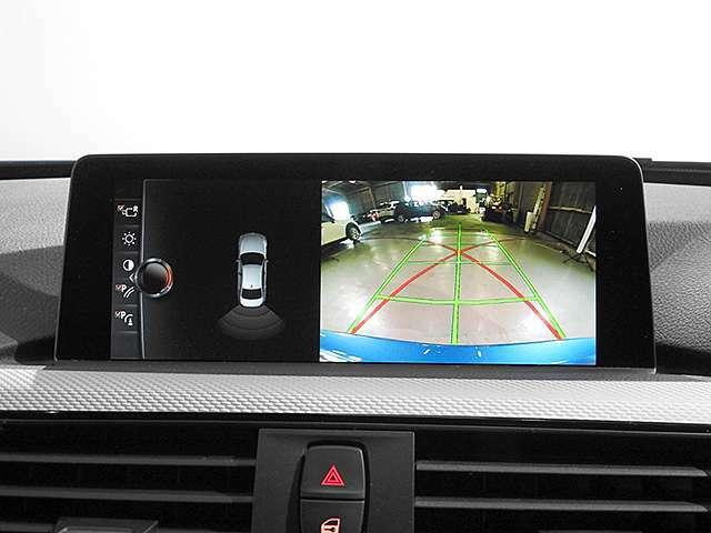 リアビューカメラと前後障害物センサー(PDC)装備で、駐車をサポート。