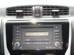 ラジオ・CDデッキです